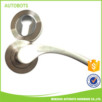 easy to use tempered glass door handle hardware handle