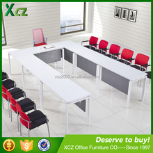 Modern MFC top u shaped conference table/Office Meeting Table/office furniture u shaped desk - - GLC-1