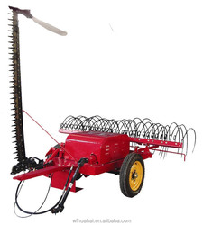 hot sale 9HGBL series of tractor trailed mower and rake machine
