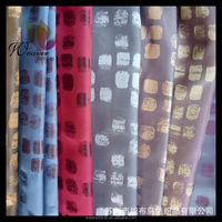 fabric design 100% polyester 75d jacquard fabric for garment
