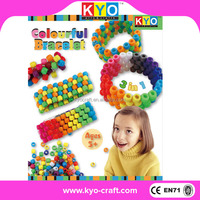 2015 new product popular resin jewelry kits making for kids