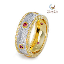 China custom gold rings jewelry wholesale
