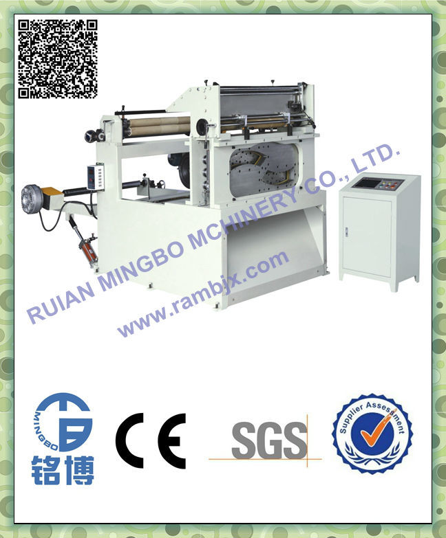 Fully automatic roll paper punching machine supplier(MB-CQ-850)