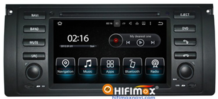 Hifimax Android 5.1 FOR BMW 7 Series E38 (1995-2001) navigation dvd OBD DAB Quad Cord 16G HD 1080P WIFI 3G INTERNET DVR SUPPORT