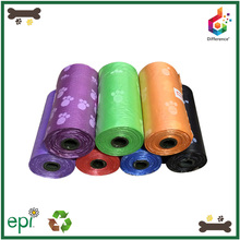 Pet products cheap custom printed dog poop bag wholesale