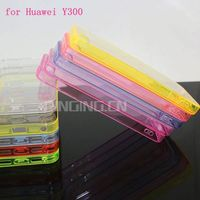 Wholesale high quality PC+TPU Gel case for Huawei Y300 phone case protective cover for Huawei Ascend Y300