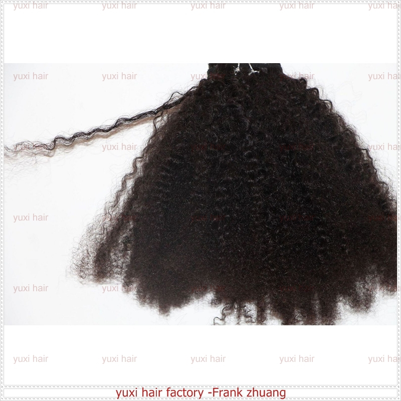 Hot selling high quality cheap ,mongolian hair afro kinky curly human hair