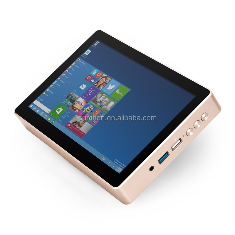 Gole1 Plus mini PC GOLE 1 with 8inch Touch Screen powered by Intel Atom x5-Z8350 processor