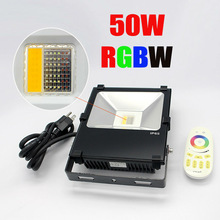 Best Price High Power IP65 IP rating 16 million colors 9 programs LED Spotlights 50W cob floodlight led wifi flood light rgb