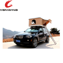 Truck suv adventure kings magtower sunday campers 4 season 4 person hardshell car roof top tent rack with with fox wing awning