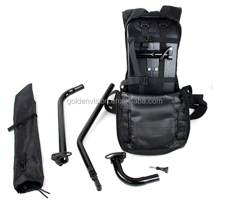Backpack for GOPRO HERO3+ 4 Outdoor Game Backpack Self Time Angle Backpack For Gopro Hero SJ4000 Camera