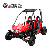 New generation automatic 110cc gas safety 2 seat racing petrol go karts for sale