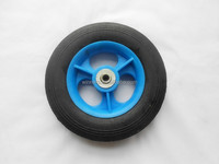 8x1.75 small solid rubber powder wheel