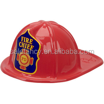 Red color hot sale knight helmet plastic fire hat QHAT-8492