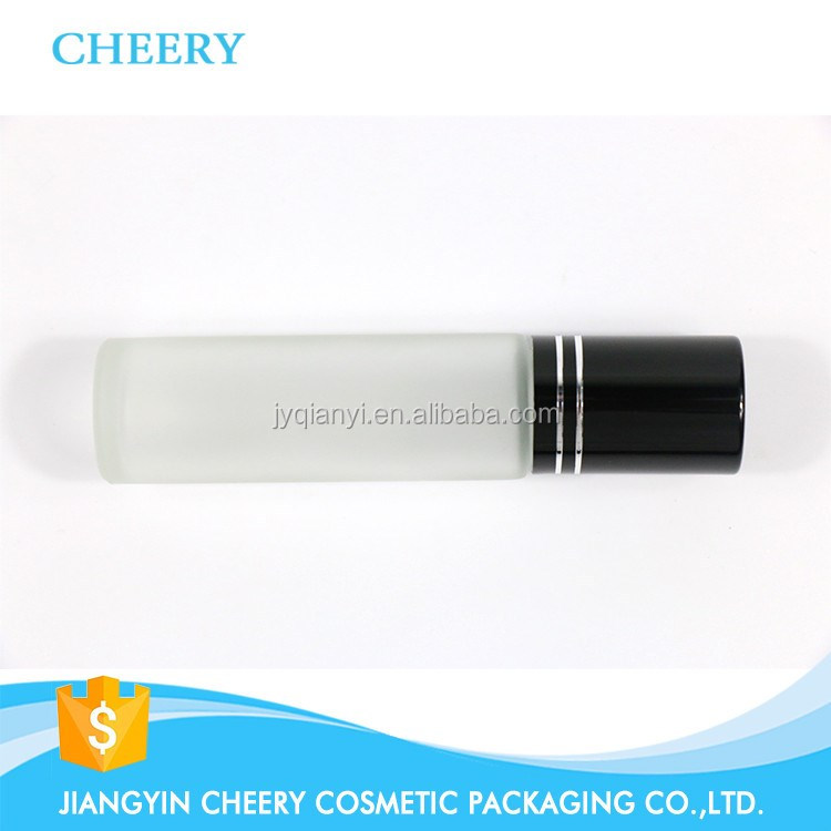 Hot Sale 8ml Glass Refillable Perfume Roll On Bottle For Essential Oil