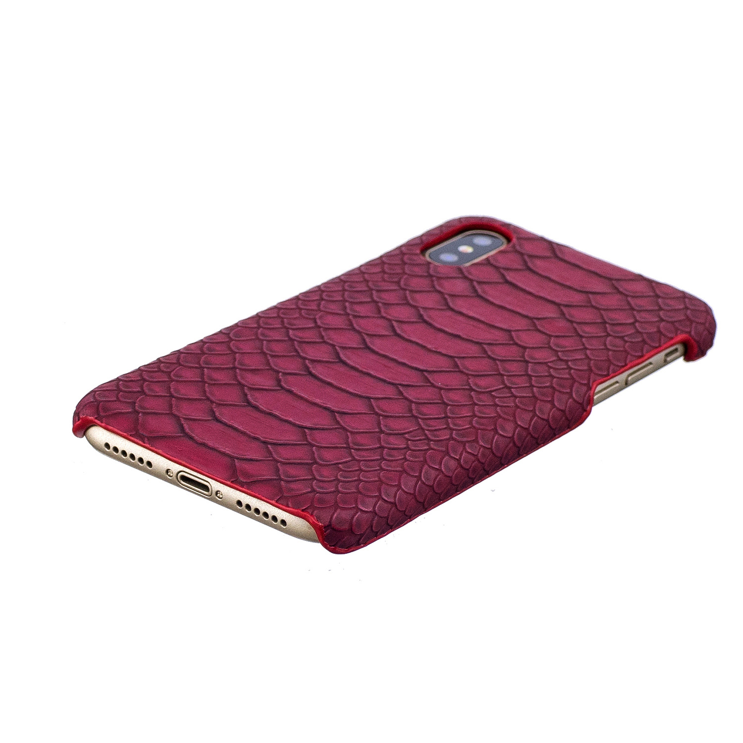 Wholesale Embossed Python Leather Phone Case