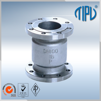 wafer spring loaded check valve for water