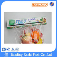 soft hardness and casting processing type packaging pe cling film for food wrap