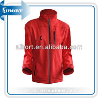 latest design simple style softshell jacket for women