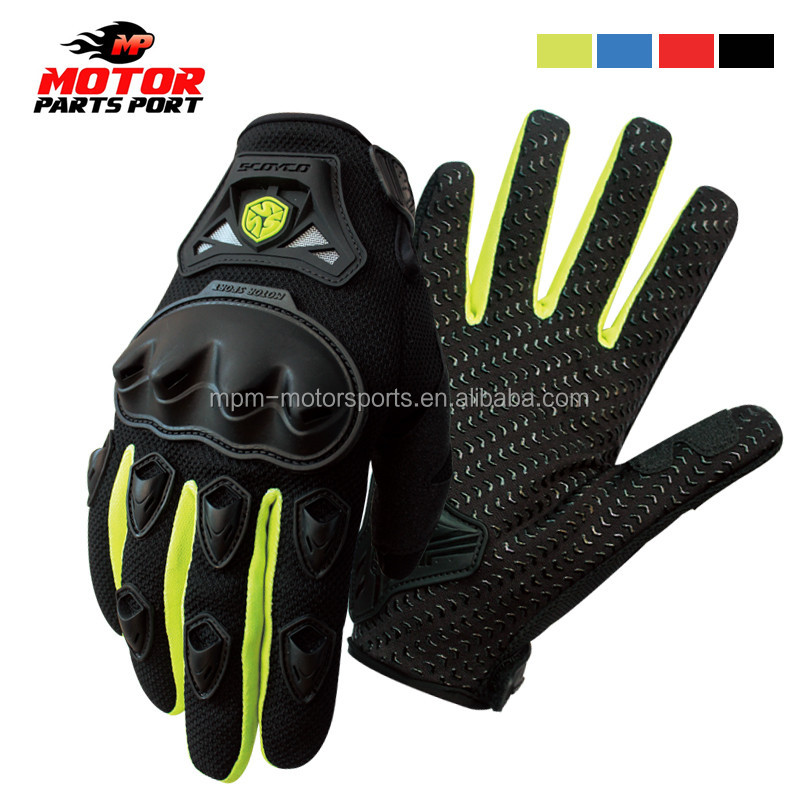 Hot selling motorcycle glove for scocyo motorcross cycling racing gloves