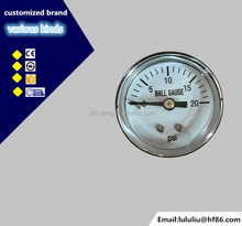 XY-PG Air Ball Pump Pressure Gauge