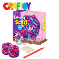 Arts & Crafts Kit en71 Knitting Scarf