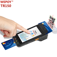EMV android mobile phone smart card reader with GPS Barcode scanner