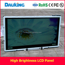 55inch 2500nit outdoor player sunlight readable LG tft LCD panel