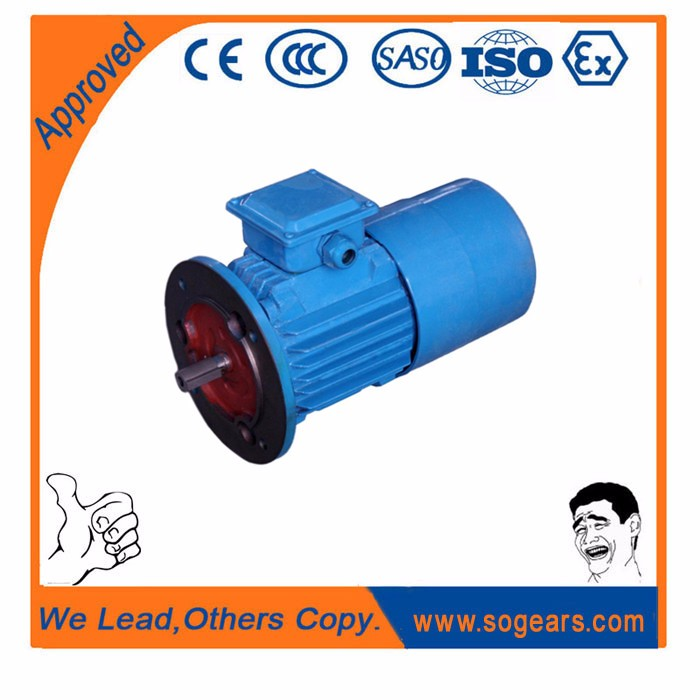 Electromagnetic brake electric tow motors for lift machinery