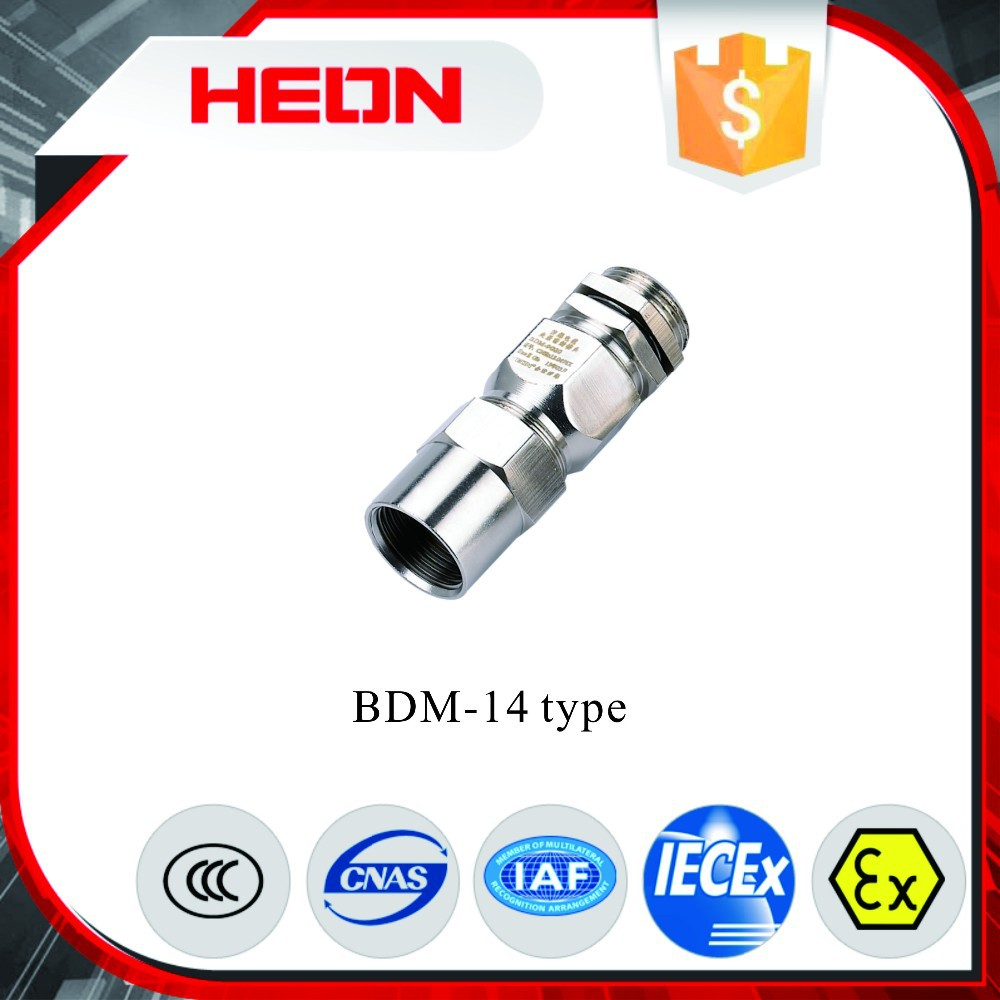 Bdm14 Series Explosion-proof Cable Clamping Sealed Connector