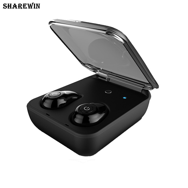 Good quality twins wireless bluetooth mini invisible earbuds v4.1, TWS bluetooth earbuds I7 with charging case