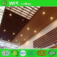 China import items decor for home decorative wpc linear ceiling
