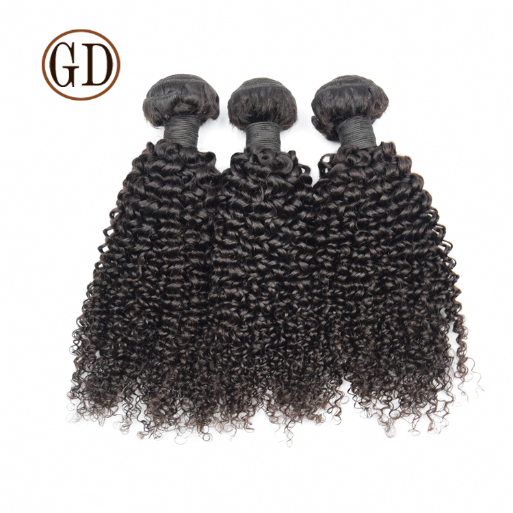 18' 20' 22'Human Hair Extension Weft 100% Brazilian virgin hair kinky curly hair, double drawn,strong weft
