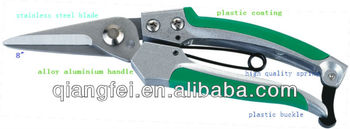 Flower Shears with plastic coating