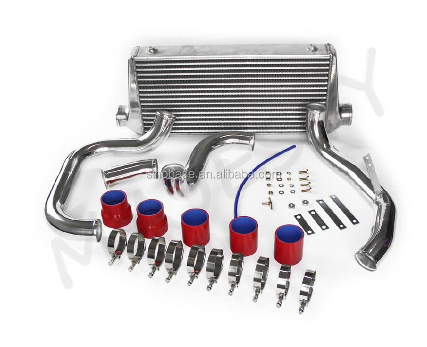 High performance all aluminum intercooler for cars