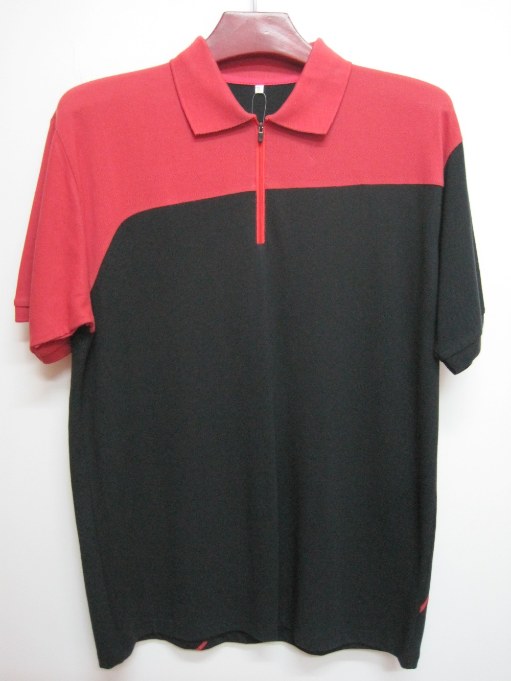 Cotton polyester mens polo shirt new designs custom dry for Custom dry fit shirts