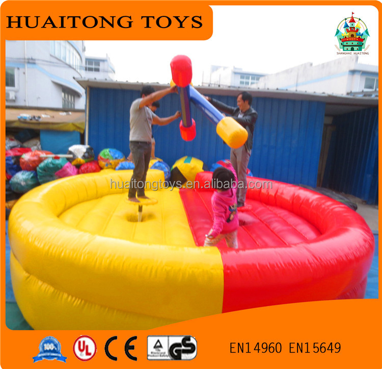 interesting sports equipment cheap inflatable wrestling ring for kids