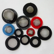 40 60 mesh stainless steel and rubber cone shaped washer filter disc