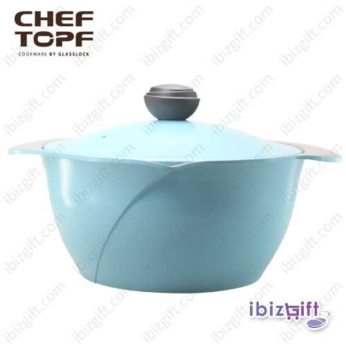 Korea Chef Topf La Rose Cookware 28cm High Soup Pot