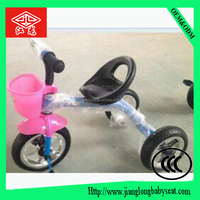 Mini child tricycle scooter with seats and 3 wheel for baby
