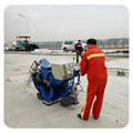 Movable floor/road/concrete shot blasting machine