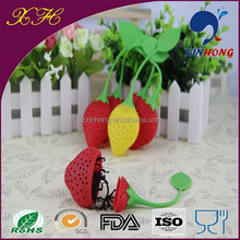 Best wholesale websites colorful Silicone Herbal Slimming screen mesh teapot filter