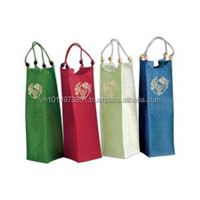 cheapest wine bags wholesale cotton material