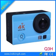 HDKing Q3H sport camera Wifi 4K 30fps FHD 1080P RF Remote Control Helmet Sports Action Camera 4K