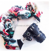 Manufacturer Fashion Hot Selling Custom Vintage DSLR Neck Camera Scarf Strap