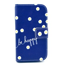 IMD customized pattern PU leather Case for 7272 Soft TPU wallet case