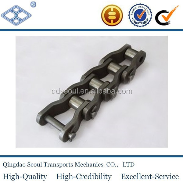 ISO ANSI standard steel cranked link transmission heavy duty chains 3125