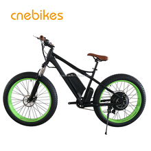 26*4.0 1000W big power Fat tire electric Mountain bike/Snow bike/electric bicycle with CE