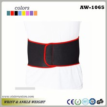 Customized GYM exercise neoprene back support belt strap wrap