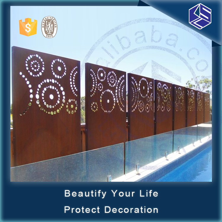 Various styles free standing garden screens divider